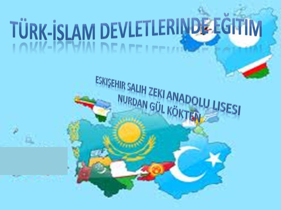 5.Türk-islam Devletlerinde Bilim Oku. Seni yaratan Rabbi nin adıyla oku.