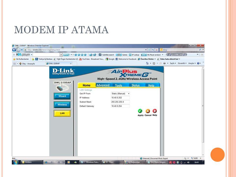 MODEM IP ATAMA