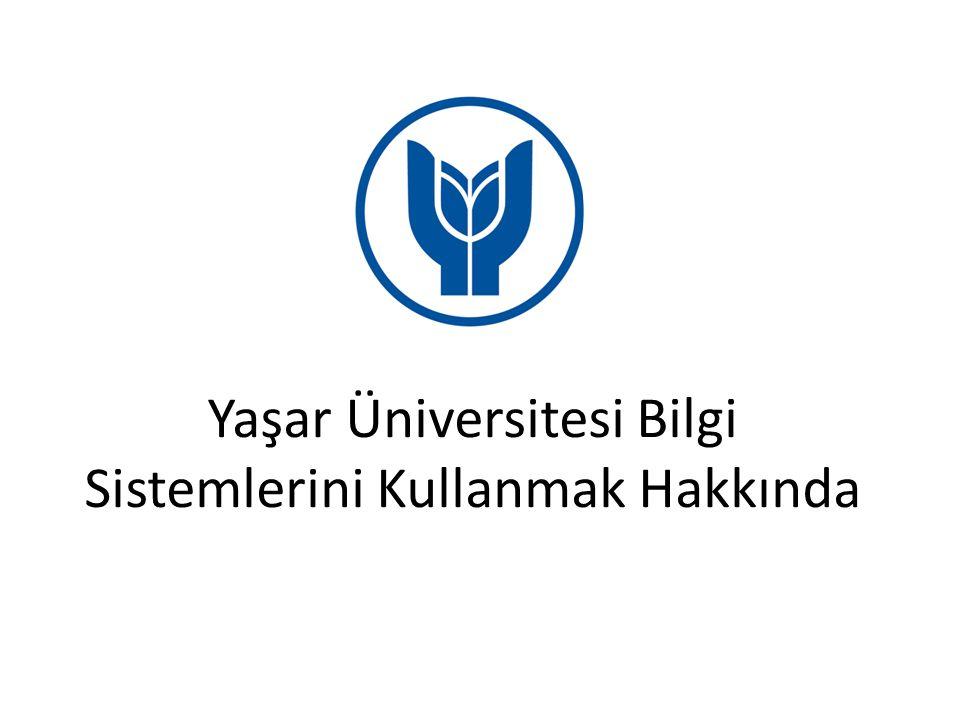 YAŞAR ID İLE E-POSTA SİSTEMİNE GİRİŞ Yaşar Üniversitesi ana sayfasında buluna Araçlar başlığına tıklatıldığında öğrenci e-posta hizmetine ulaşılmaktadır.