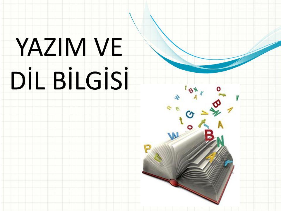 Yazım ve Dil Bilgisi Kelime işlemci programını kullanarak çalışmakta olduğumuz belgedeki metnin yazım ve dil bilgisi denetimini yapabiliriz.