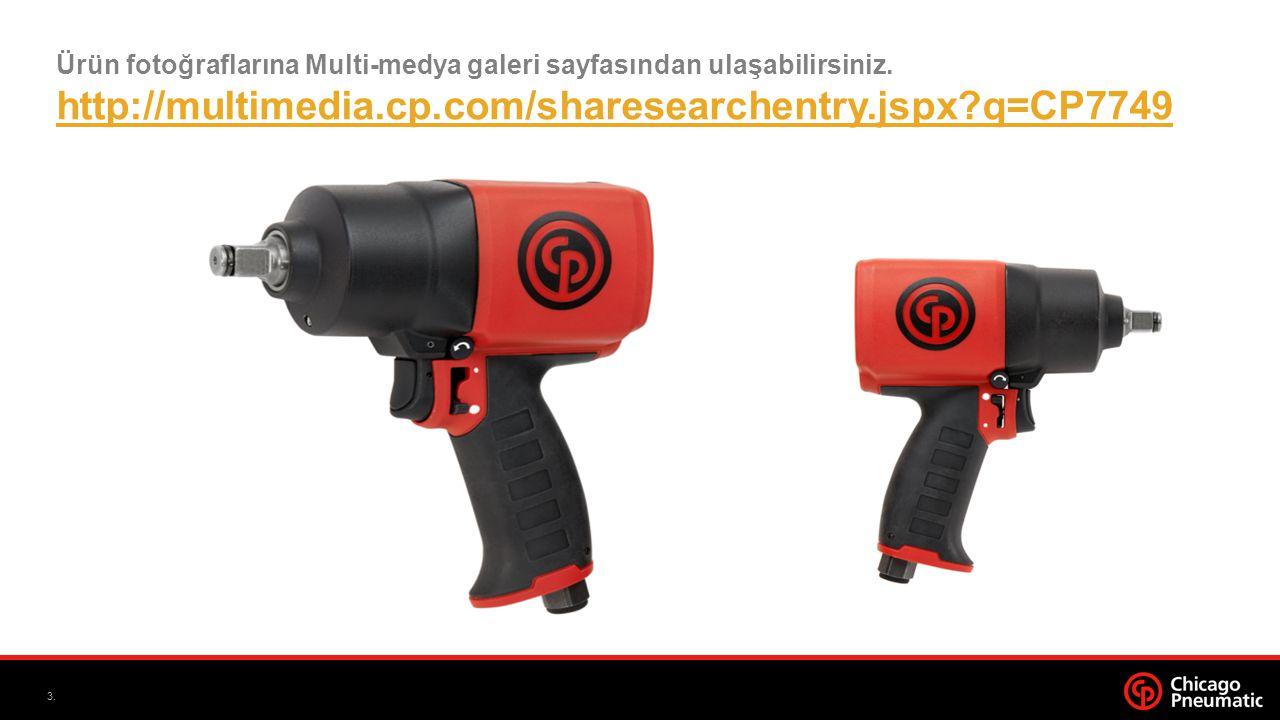 3. Ürün fotoğraflarına Multi-medya galeri sayfasından ulaşabilirsiniz.