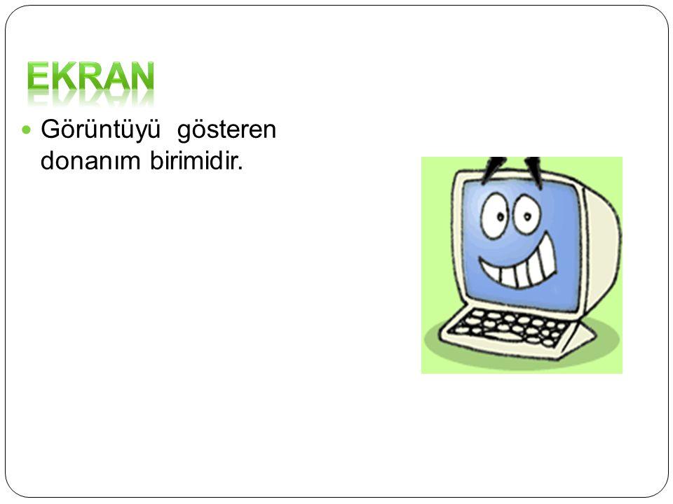 Bilgisayarda o anda çalışmakta olan programların ihtiyaç duyduğu belgeler Ram bellekte tutulur.İstenilen bölgesine bilgi depolanabilir,silinebilir, ok