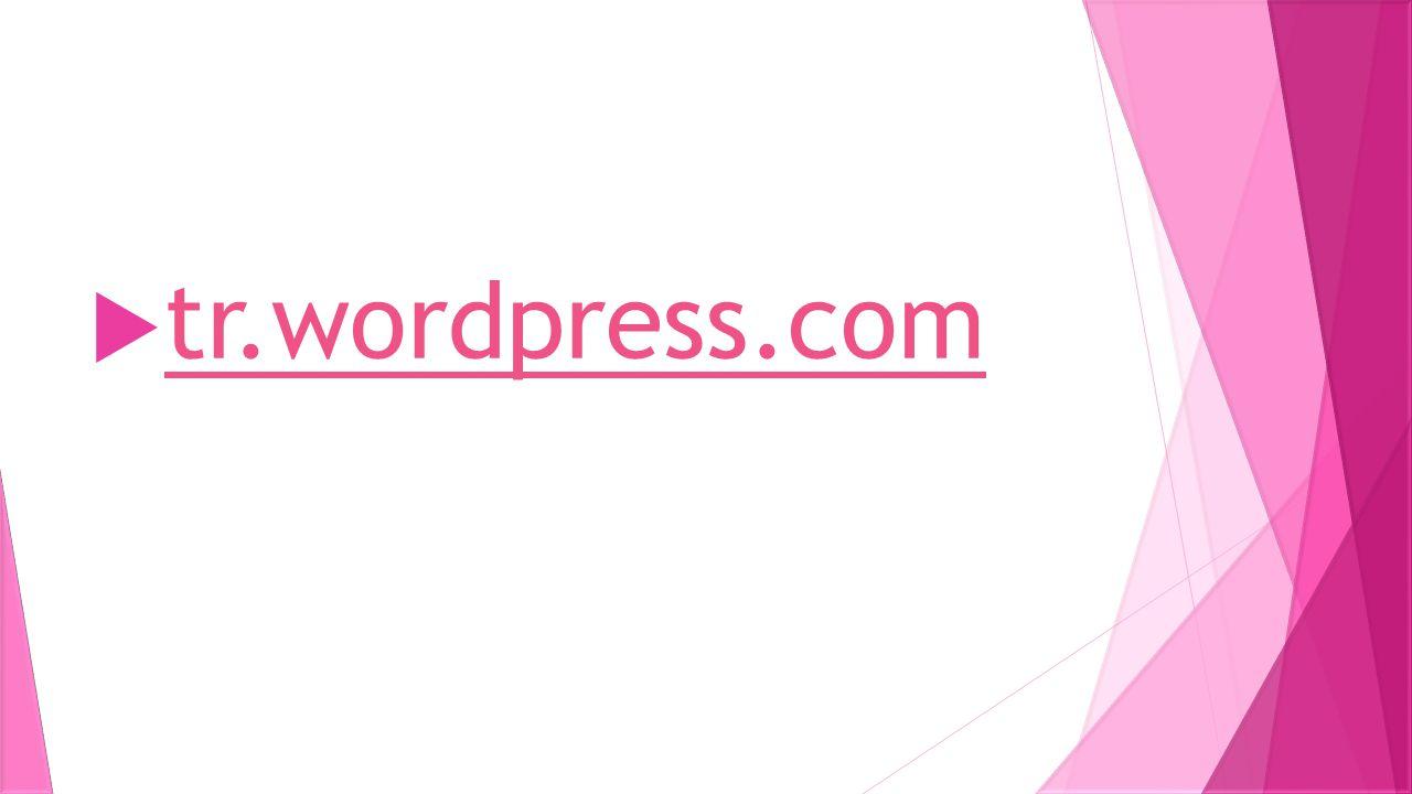  tr.wordpress.com tr.wordpress.com