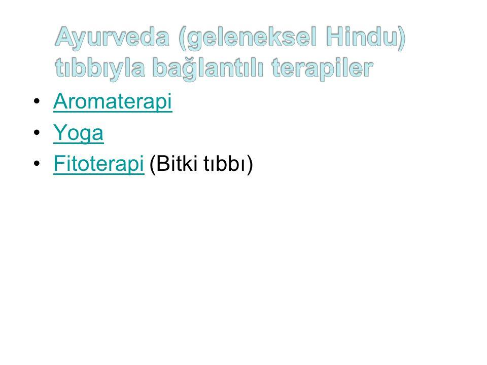 Aromaterapi Yoga Fitoterapi (Bitki tıbbı)Fitoterapi