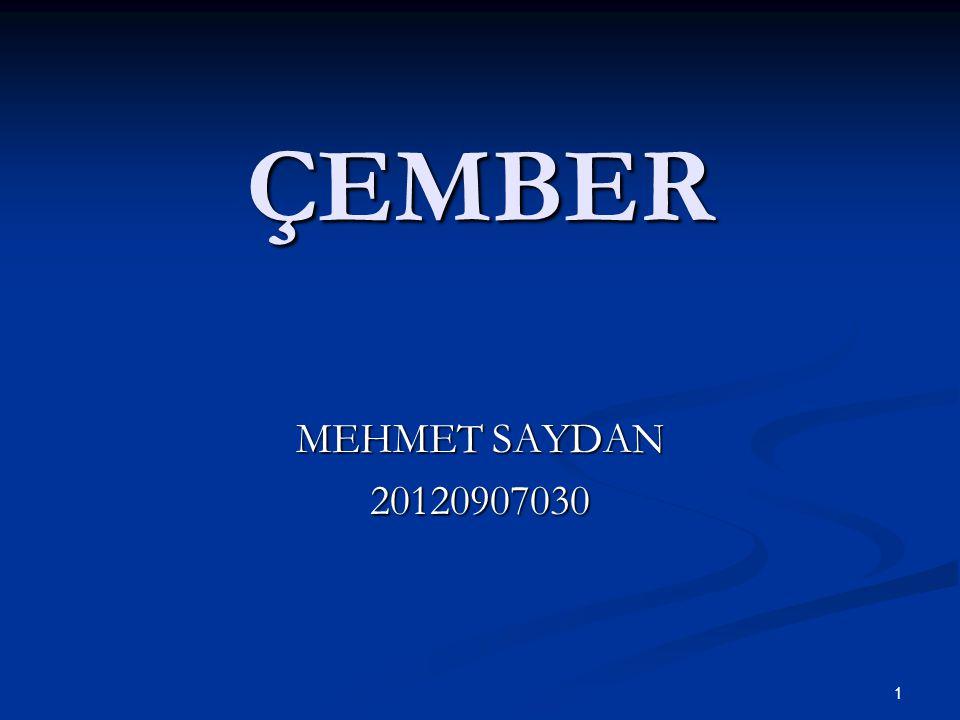 1 ÇEMBER MEHMET SAYDAN 20120907030