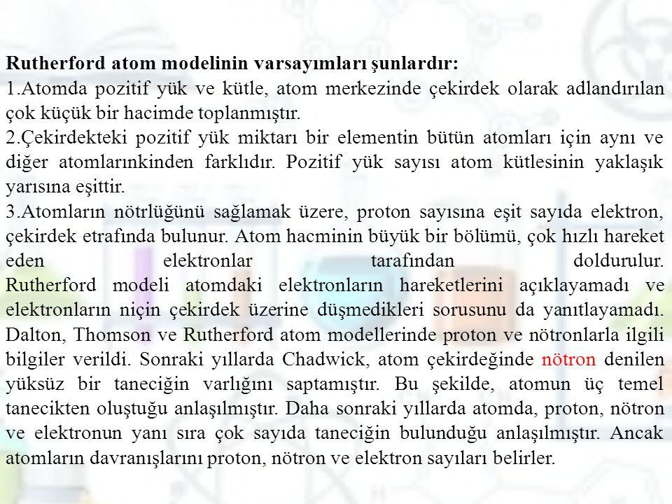 PERİYODİK TABLONUN BÖLÜMLERİ 1.1.