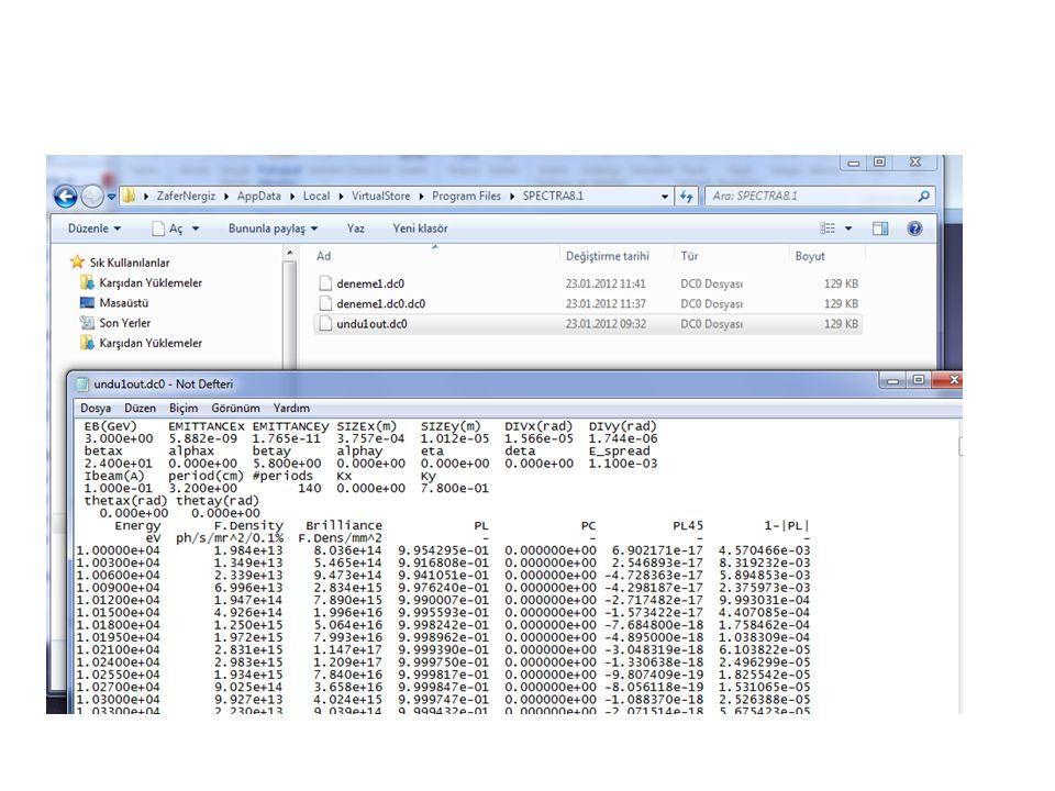 12 Datalar sizin prgramfiles'da sizin belirlemiş olduğunz dosyaya kaydolur.