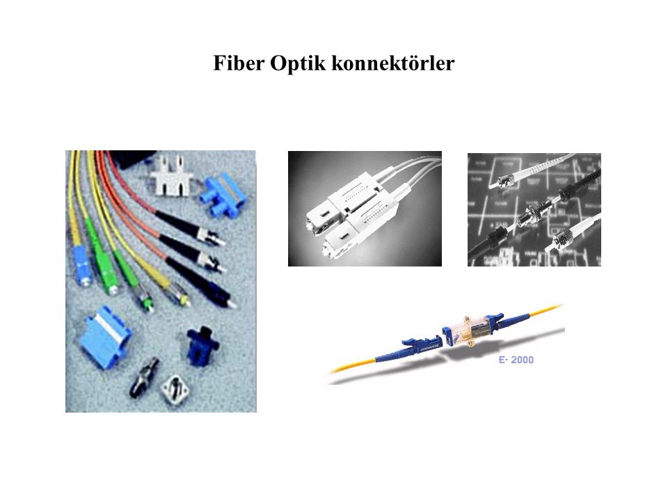 Plug pair Mating adapter Ferrule Anahtar Fiber Optik Konnektörler