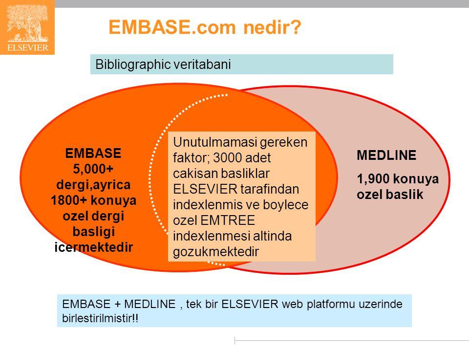 EMBASE.com nedir.
