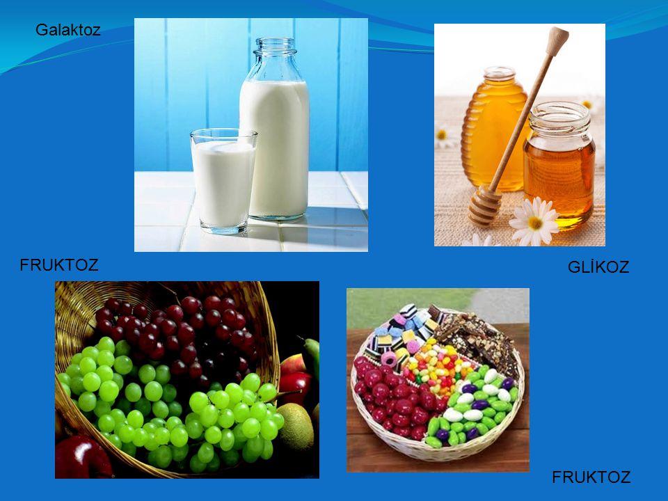 Glikoz: Üzüm Şekeri Glikoz: Üzüm Şekeri (C 6 H 12 O 6 )