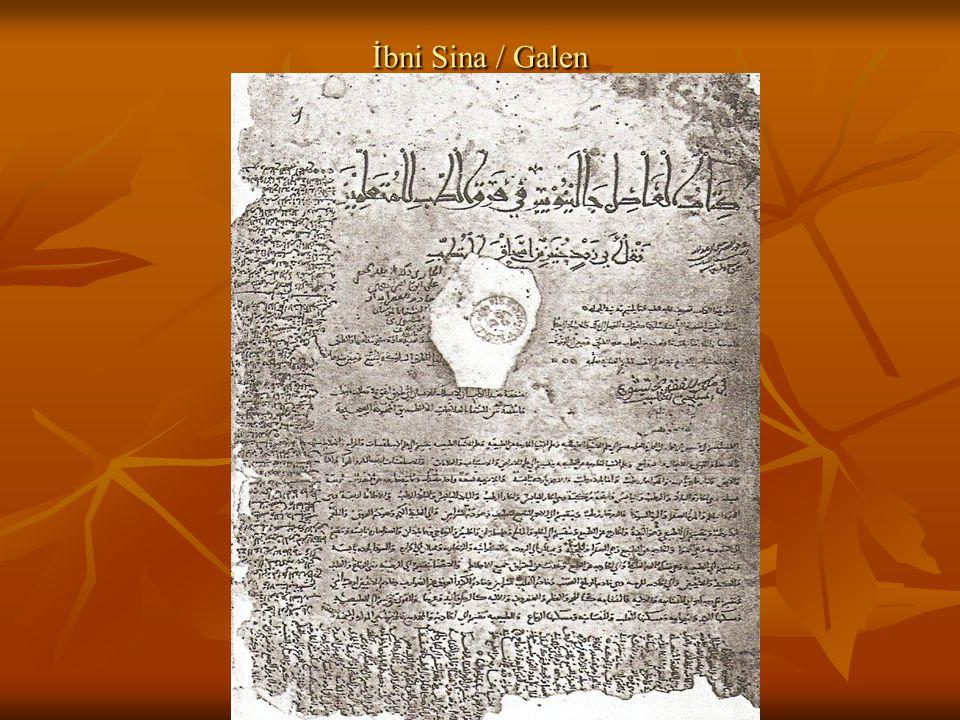 Ünlü Hekimler Abul Kasım Zahravi (936-1013) Daha çok cerrahi üzerine yazdığı kitabı al-Tasrif adlı eseriyle Batı Hristiyan dünyası üzerinde etkili olmuş.