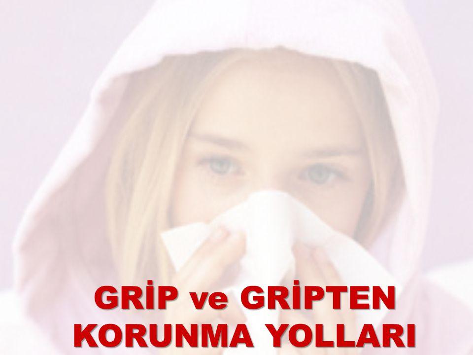 GRİP nedir.Grip bir üst solunum yolu hastalığıdır.