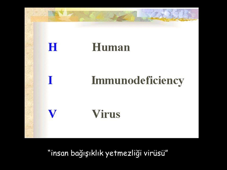 AIDS nedir kazanılmış bağışıklık yetmezliği sendromu dur.