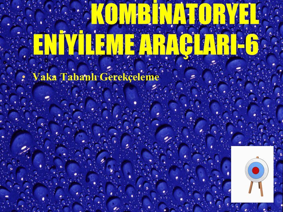 KOMBİNATORYEL ENİYİLEME ARAÇLARI-5 Benzetilmiş Tavlama ve Su Verme TAVLAMA ve SU VERME ısıl işlem metotlarıdır