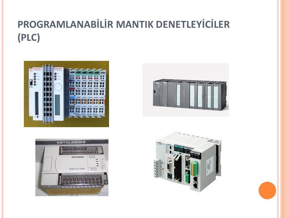 PROGRAMLANABİLİR MANTIK DENETLEYİCİLER (PLC)