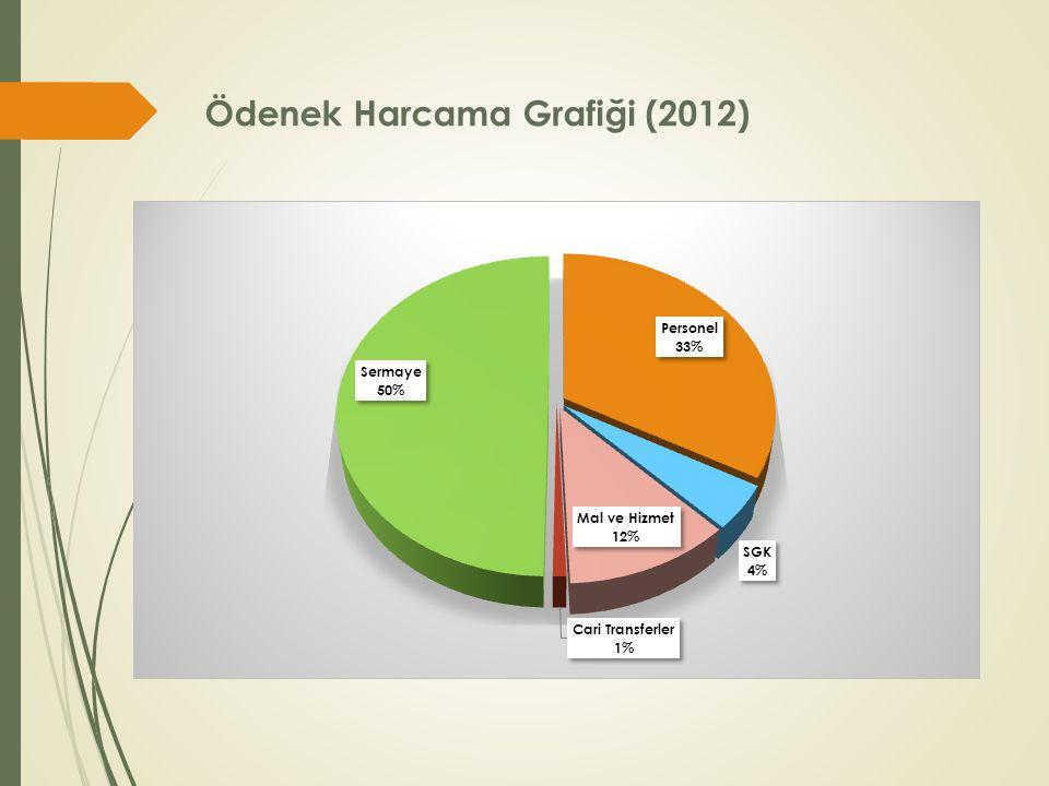 Ödenek Harcama Grafiği (2012)