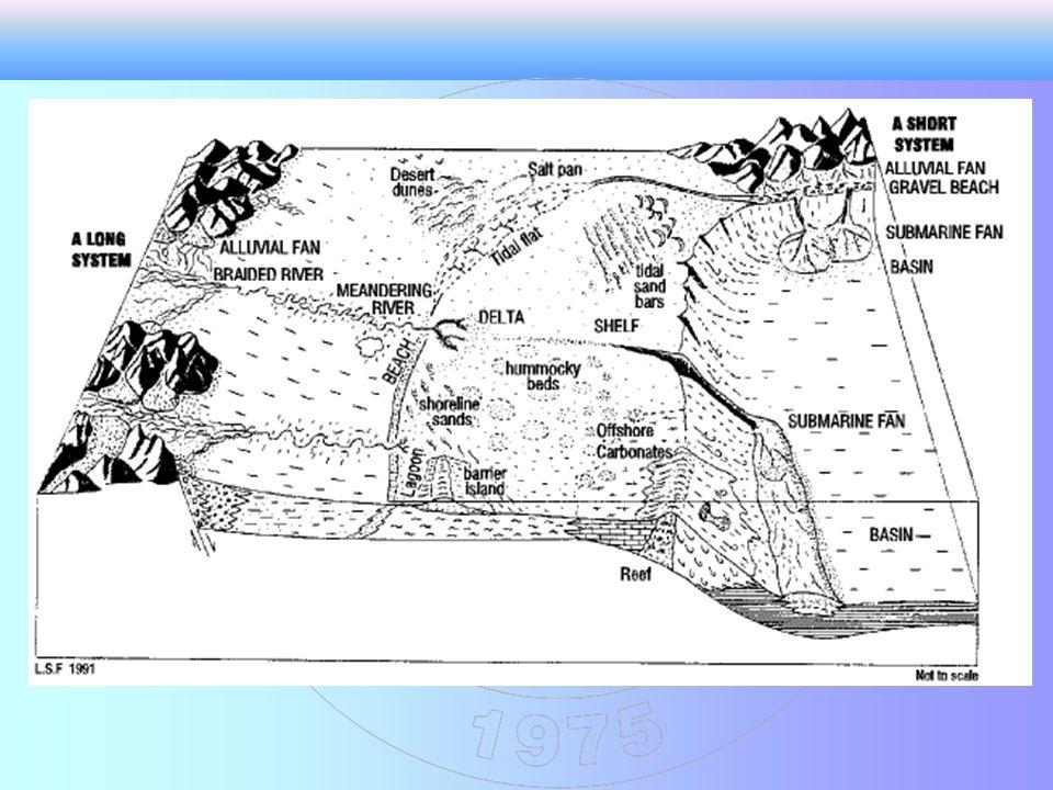 Menderesli akarsular tek bir kanalda akan ve plan görünüşleri bir seri lobların birleşmesinden oluşmuştur.