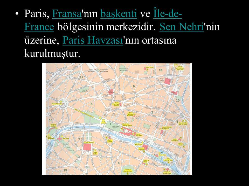 ETİMOLOJİ Paris adını Galya halklarından Parisii lerden almaktadır.
