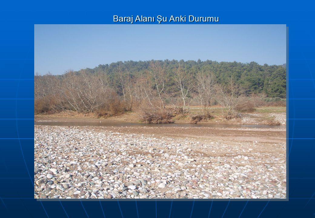 Baraj Alanı Şu Anki Durumu