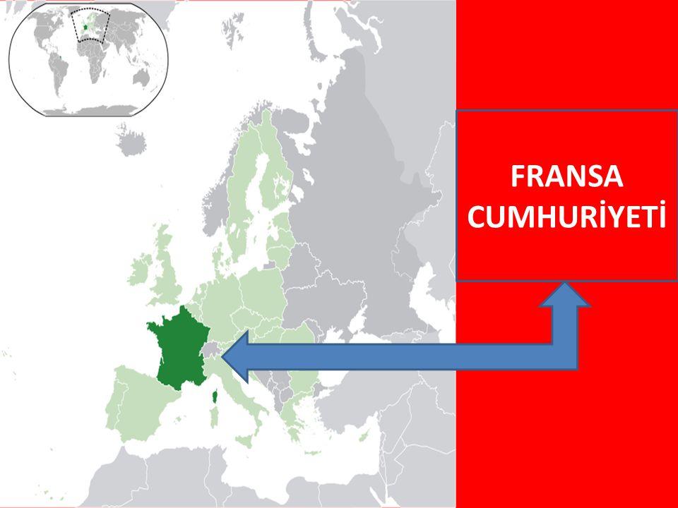 FRANSAYA AİT OLAN TOPRAKLAR