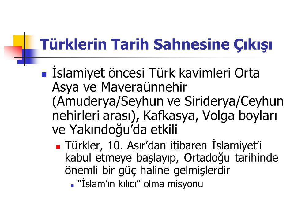 Türklerin Tarih Sahnesine Çıkışı İslamiyet öncesi Türk kavimleri Orta Asya ve Maveraünnehir (Amuderya/Seyhun ve Siriderya/Ceyhun nehirleri arası), Kaf