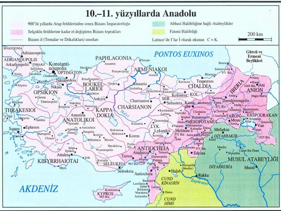 Anadolu (Rum) Selçukluları Selçuklu Sultanı, Türkmen beylerine fethettikleri yerlerin hakimiyet fermanını veriyordu 1176 Myriokefalon Savaşı Bizans karşısındaki nihai zafer Parlak devirleri 13.