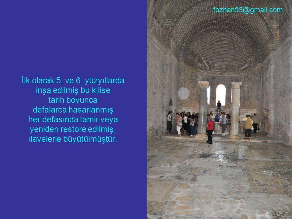 İlk olarak 5. ve 6. yüzyıllarda inşa edilmiş bu kilise tarih boyunca defalarca hasarlanmış her defasında tamir veya yeniden restore edilmiş, ilavelerl