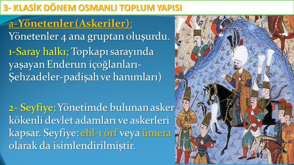 D.Osmanlı Ailesi Osmanlı ailesinde ise dini nikâhı Kadılar kıyar, çok eşli bir aile yapısı vardır.