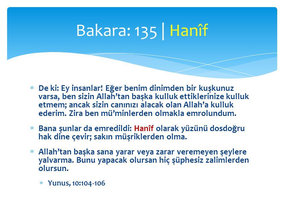  Kur'ân da bütün insanlara ve bütün çağlara gönderildi  Bu Kur'ân ise, sizi ve onun ulaştığı kimseleri sakındırmam için bana vahyolundu.
