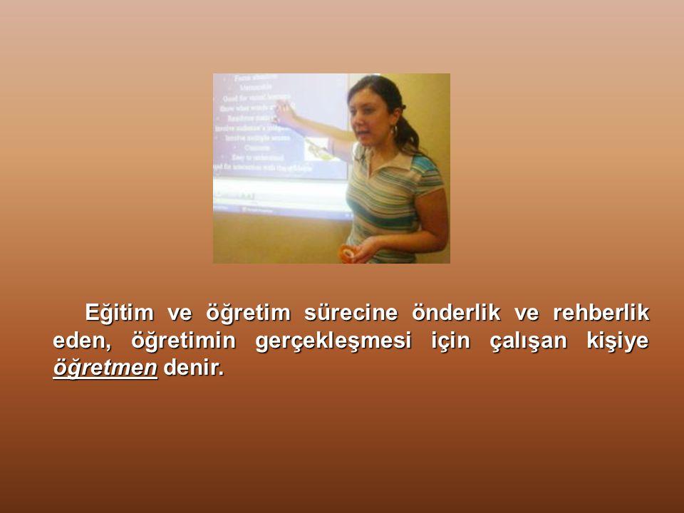 Öğretmen Marşı Yürütülüyor…