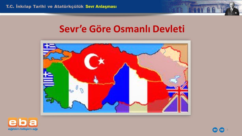 T.C. İnkılap Tarihi ve Atatürkçülük Sevr Anlaşması 8 Sevr'e Göre Osmanlı Devleti