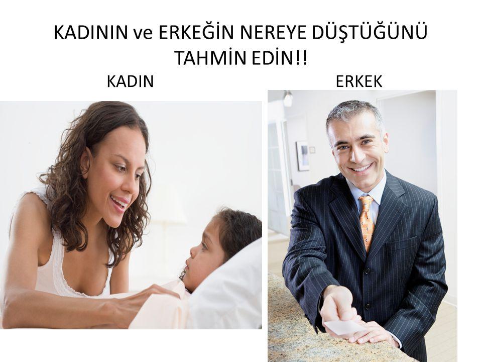 KADIN ERKEK