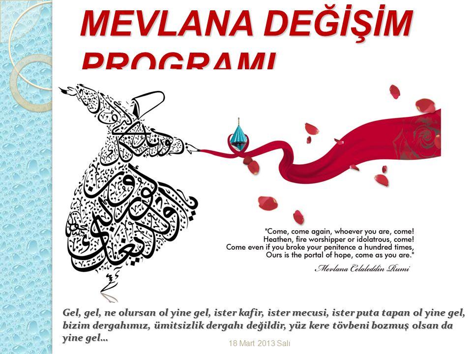 Süleyman Demirel Üniversitesi Mevlana Değişim Programı Kurum Koordinatörlüğü .