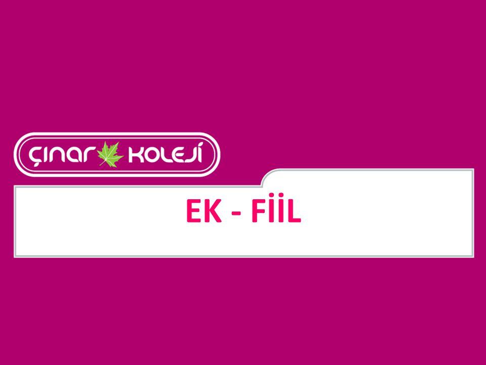 EK - FİİL