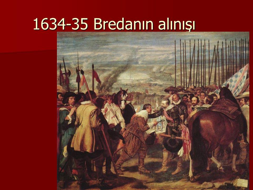 1634-35 Bredanın alınışı