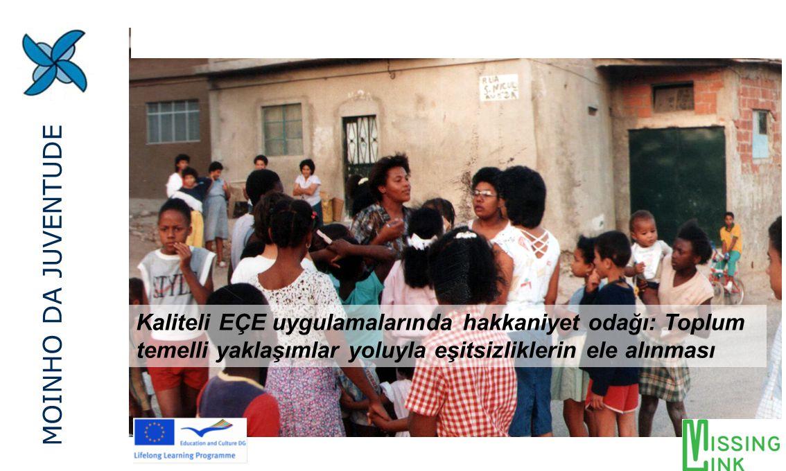 Kaliteli EÇE uygulamalarında hakkaniyet odağı: Toplum temelli yaklaşımlar yoluyla eşitsizliklerin ele alınması MOINHO DA JUVENTUDE