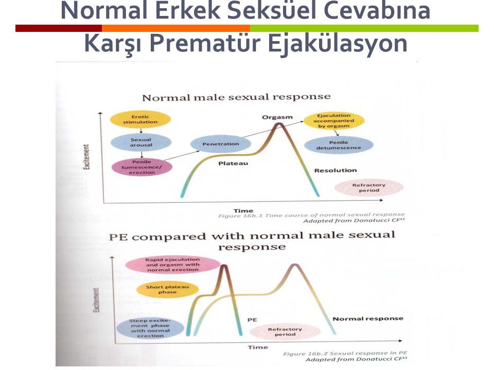 Normal Erkek Seksüel Cevabına Karşı Prematür Ejakülasyon