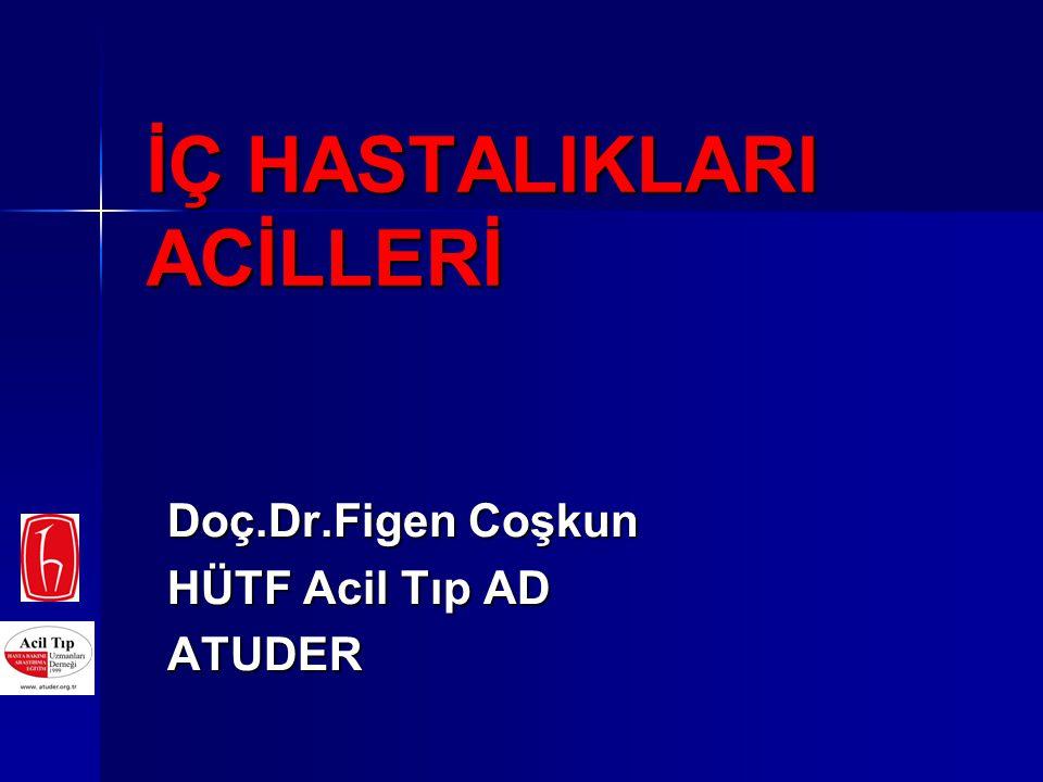 Hipovolemi Volüm infüzyonu Hidrojen-asidosis HiperK, hipoK Hiper/Hipotermi Oksijen, ventilasyon Tamponlar, ventilasyon Ca, insülin,...., K Soğutma, ısıtma Hipoksi 5H tedavisi