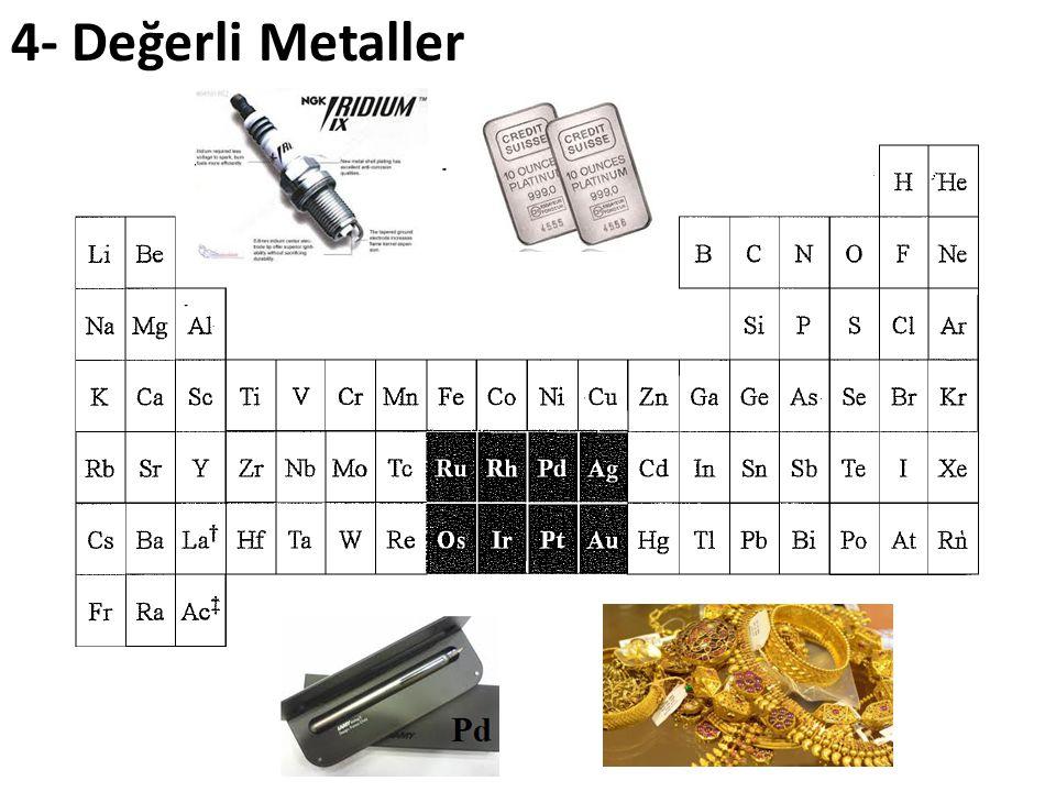 4- Değerli Metaller