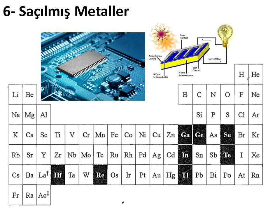 6- Saçılmış Metaller