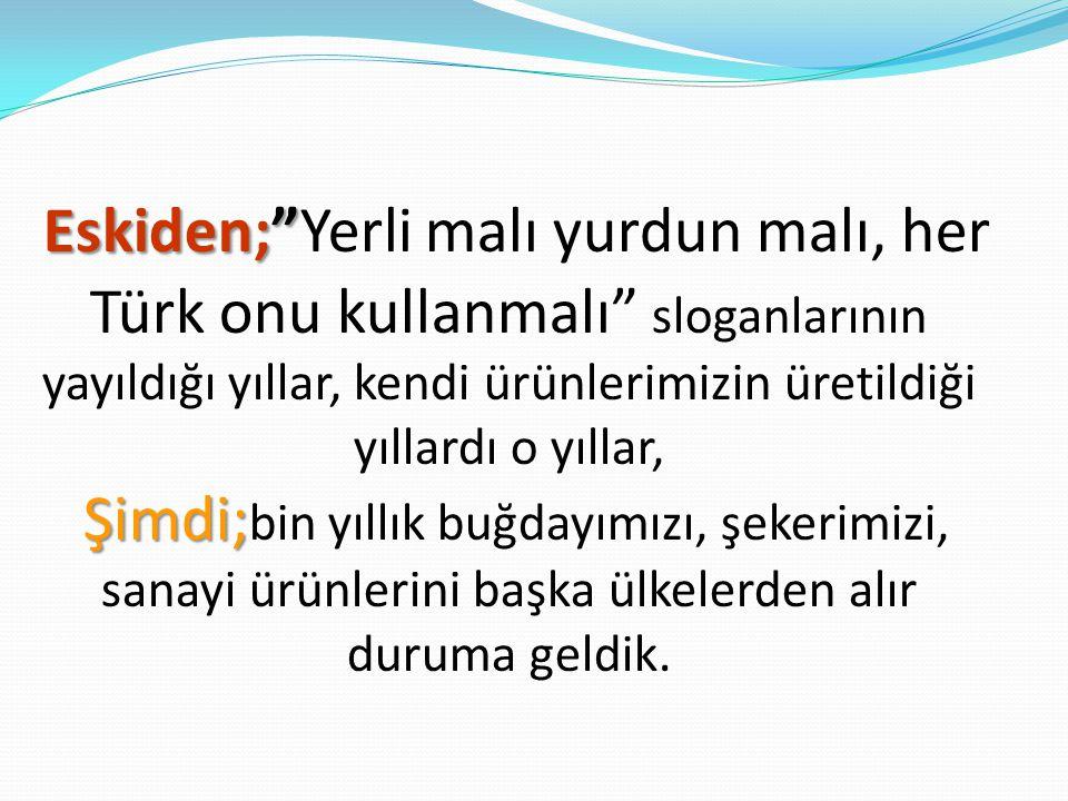Gaziantep Üniversitesi Fen Edebiyat Fakültesi Biyoloji Bölümü Toplumsal Duyarlılık Projesi Yerli Malı Çalışanları adına.