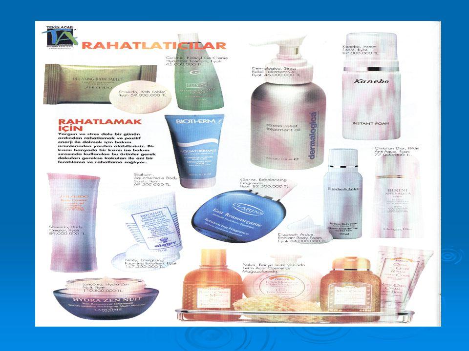  I. Yeni Aktif Maddeler  II.Yeni Kozmetik Taşıyıcı Sistemler