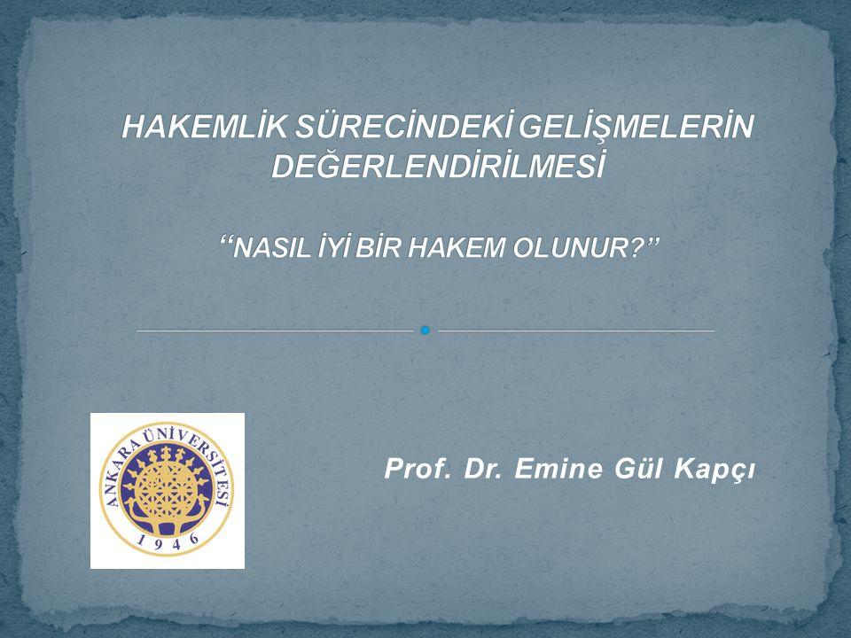 Prof. Dr. Emine Gül Kapçı