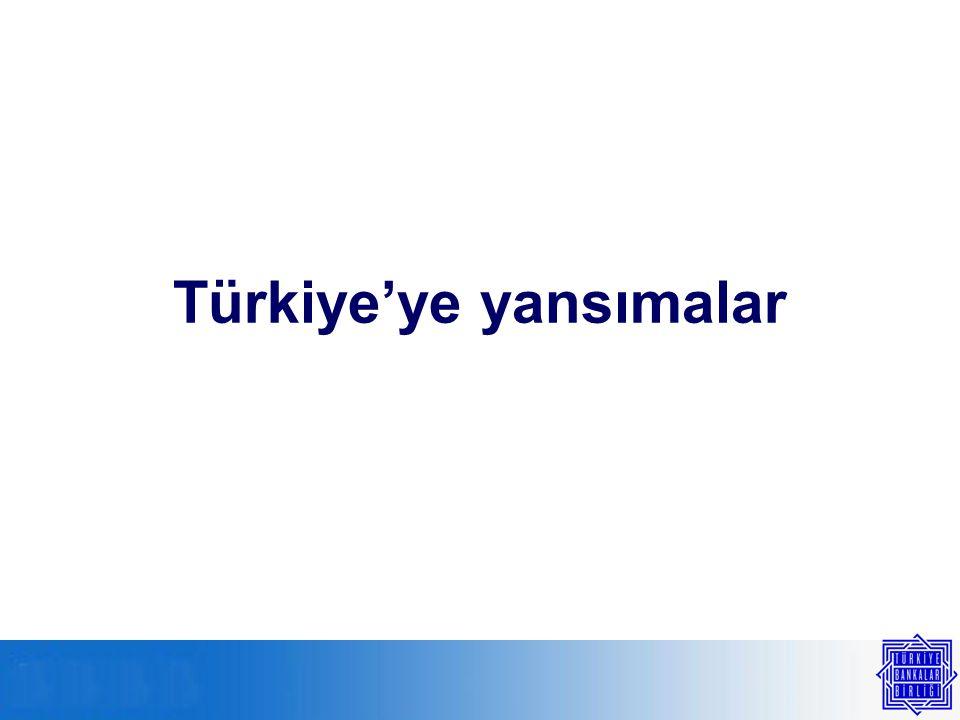 Türkiye'ye yansımalar