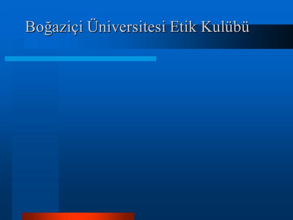 Boğaziçi Üniversitesi Etik Kulübü