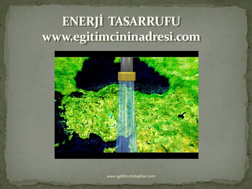 GEREKSİZ IŞIKLARI SÖNDÜRMELİYİZ… www.egitimcininadresi.com