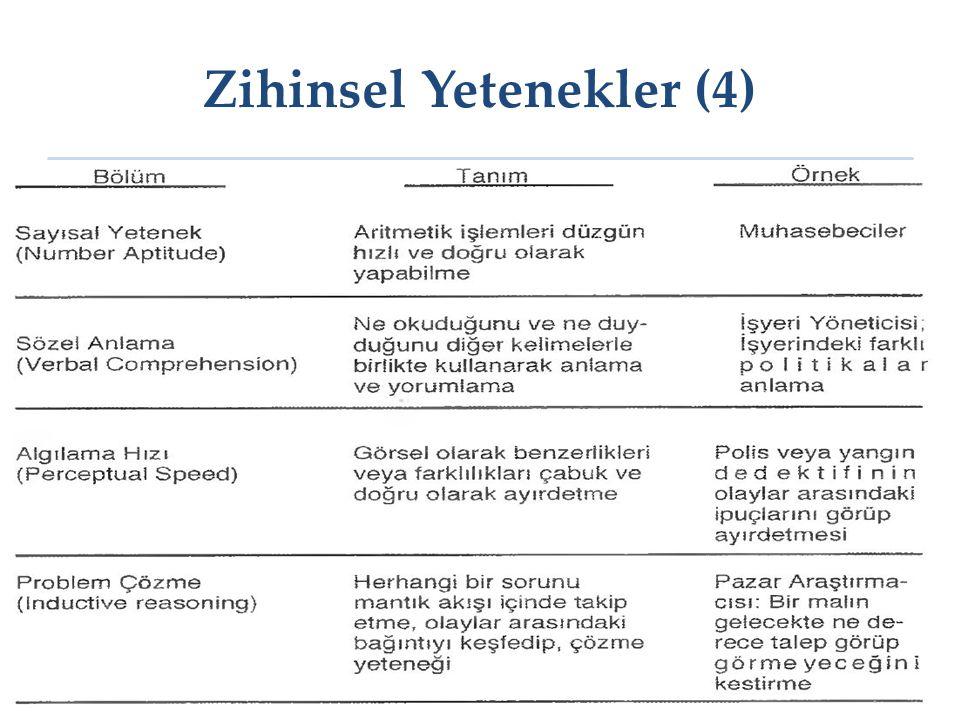 Zihinsel Yetenekler (4) 22