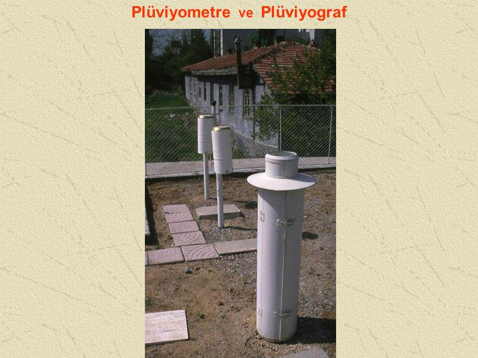 Plüviyometre ve Plüviyograf