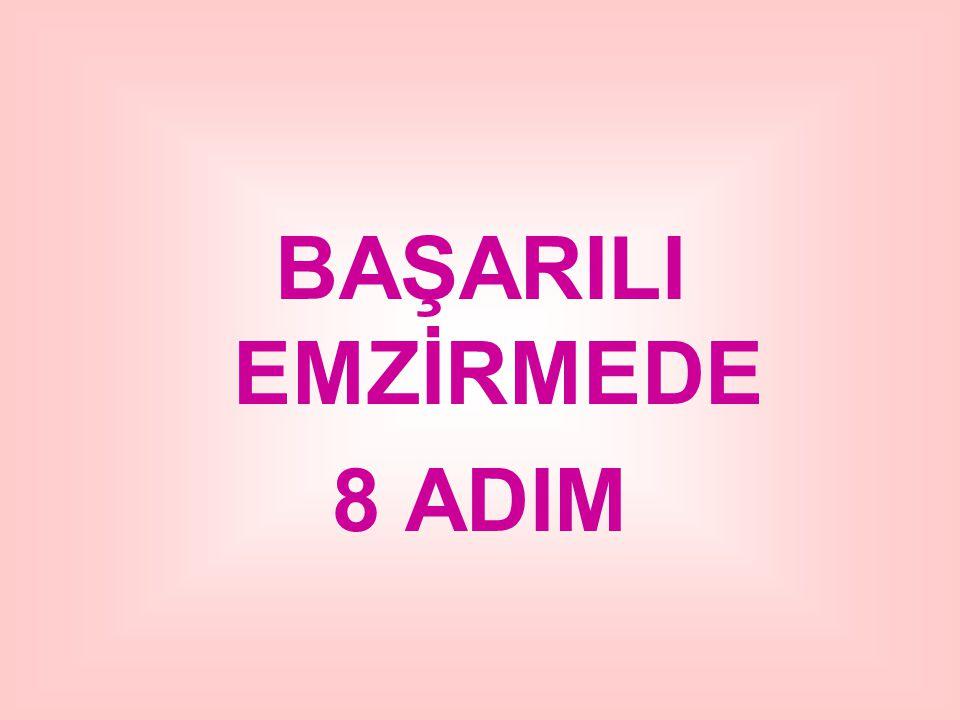 BAŞARILI EMZİRMEDE 8 ADIM