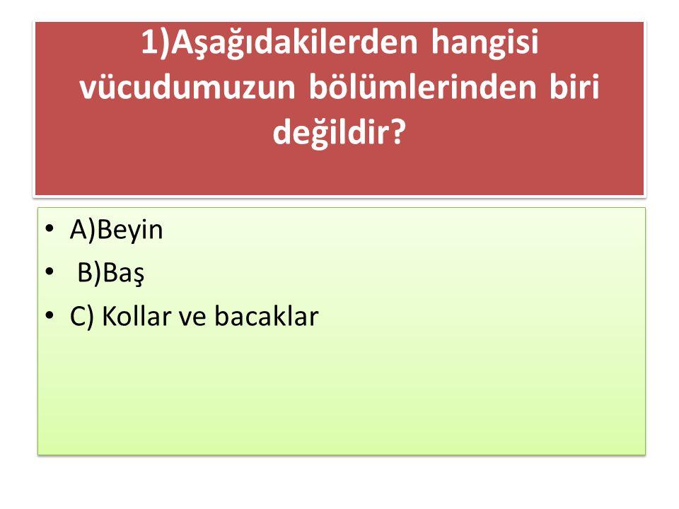 7)İki basamaklı doğal sayıların en küçüğüne 6 eklenirse hangi sayı bulunur ? a) 19 b) 16 c) 9